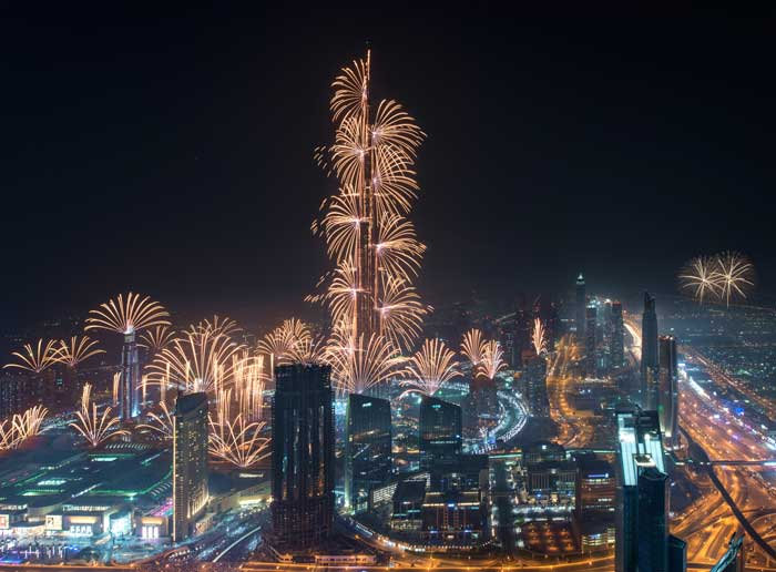 Where to watch new year 2021 fireworks in Dubai, UAE, December 31 2020